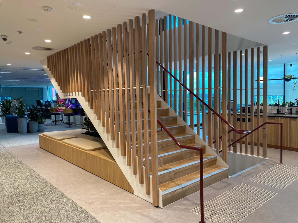 Aristocrat Technologies Feature Stair Upgrade