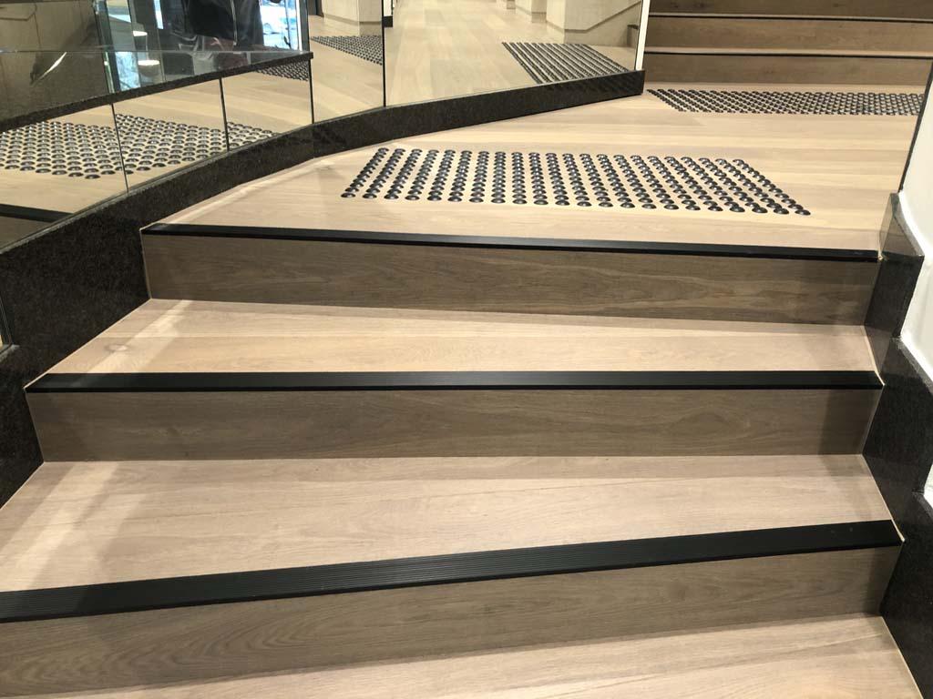 5 York Street Sydney Feature stair and lobby flooring