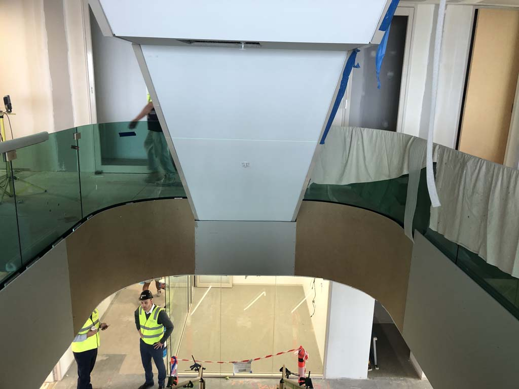 Boston Consulting Groupe Sydney Handrail Project